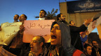 Protestveranstaltung der Pro-Demokratie-Bewegung, am 23. Dezember in Kairo.