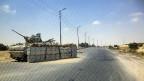 Checkpoint der ägyptischen Armee im Nordsinai.