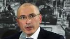 Michail Chodorkowski an einer Medienkonferenz am 22. Dezember in Berlin.