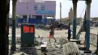 Ein ausgebrannter Laden in Malakal, fast 500 Kilometer südlich der Hauptstadt Juba.