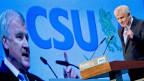Parteichef Horst Seehofer am CSU-Parteitag in München, Deutschland, am 23. November 2013.