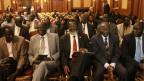 Delegierte der südsudanesischen Regierung