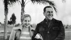 Evita und Juan Peron, auf einem Foto von 1950.