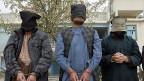 Verhaftete Taliban-Kämpfer, am 7. Januar 2014 in Kandahar.