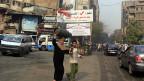 Auf Kairos Strassen wird seit ein paar Wochen zur Teilnahme an der Referendums-Abstimmung aufgedordert.