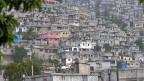 Ein dicht bebauter Hügel ausserhalb der haitianischen Hauptstadt Port-au-Prince.