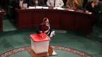 Im Saal der Verfassungsgebenden Versammlung