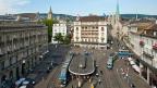 Good News für den Schweizer Finanzplatz. Bild: Zürich, Paradeplatz.