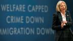 Die britische Innenministerin Theresa May hat den Bericht zur Zuwannderung in Auftrag gegeben.