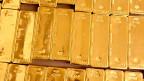 Goldbarren im Keller der Nationalbank
