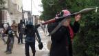 Strassenkämpfer in Falludja, Irak