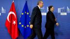 Der türkische Premier Recep Tayyip Erdogan und EU-Kommissionspräsident José Manuel Barroso am 21. Januar in Brüssel.