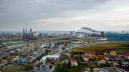 Blick über den Olympia-Park von Sotschi.