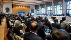 Eröffnung der internationalen Syrien-Friedenskonferenz in Montreux.