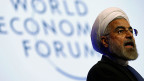 Der iranische Präsident Hassan Rohani am WEF in Davos.