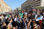 Demo am Ort des jüngsten Anschlages in Kairo