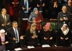 Abgeordnete in der tunesischen Verfassungsversammlung