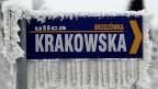 Vor allem im Winter sieht man in der polnischen Grossstadt Krakau den blauen Himmel auch dann kaum, wenn die Sonne scheint.