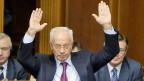 Er hat seinen Rücktritt bekannt gegeben: der ukrainische Premier Nikolai Asarow.