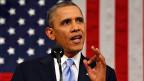 US-Präsident Barack Obama während der «State of the Union»-Rede.