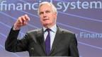 EU-Binnenmarktkommissar Michel Barnier hat die neue Richtlinie vorgestellt, die das Risiko der zu grossen Banken mindern soll.