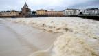 Arno: Hochwasser in Florenz (keystone).