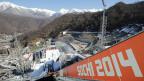 Grosse Teile der Olympischen Winterspiele von Sotschi werden im Nationalpark mit der grössten Biodiversität ganz Russlands ausgetragen.