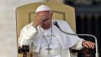 Papst Franziskus ist von der Uno zum Handeln gefordert.