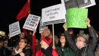 Bereits in Januar protestierten in Ankara zahlreiche Menschen gegen Zensur.