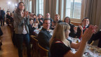Jubel-Stimmung bei der SVP in Aarberg