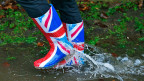 In Teilen Englands hat es so viel geregnet wie letztmals 1767.