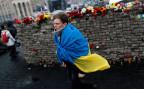 Gedenkfeier für getötete Oppositionelle auf dem Maidan