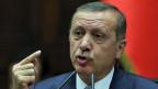 Der türkische Premier Erdogan ist der Korruption angeklagt.