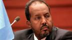 Der somalische Präsident Hassan Scheich Mohamud, auf einem Bild vom 31. Januar 2014.