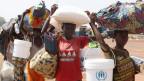 Täglich erreichen Hunderte Flüchtlinge  den Fischerort Zongo.