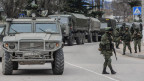 Die russiche Armee erhöht ihre Präsenz auf der Krim.