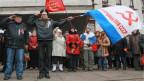 Die Krimrussen fordern Putin auf, militärisch einzugreifen.