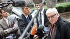 Der deutsche Aussenminsiter sagte in Brüssel auch, der Konflikt in der Ukraine sei «die schärfste Krise seit dem Mauerfall».