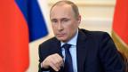 Russlands Präsident Putin sagt, in der Ukraine gebe es zwar ein halbwegs legitimes Parlament, aber keine legtime Regierung.