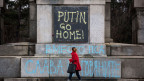 Es gab weltweit Proteste gegen die russische Besetzung der Krim.