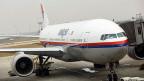 Eine Boeing 777 der Malaysia Airlines in Kuala Lumpur - das gleiche Modell wie das verschwundene.