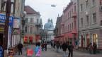 Ternopil, eine Stadt im Westen der Ukraine und eine der drei wichtigsten Städte Ostgaliziens.