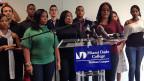 Die meisten dieser kubanischen StudentInnen durften wegen ihrer politischen Haltung keine Ausbildung auf Kuba absolvieren. Das holen sie nun in Miami nach.