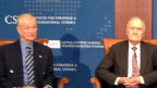 Zbigniew Brzezinksy und Brent Scowcroft, am Mittwoch, 19. März in Washington.