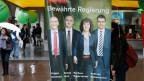 Wahlplakat für die Berner Regierungsratswahlen