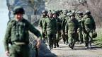 Russische Truppen auf der Krim.