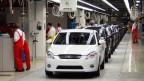 Die Slowakei ist das Land mit der höchsten Autoproduktion pro Kopf weltweit. Bild: Auto-Montagestrasse von KIA Motors im Werk in Zilina, Slowakei.