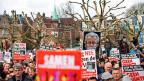 Proteste gegen Geert Wilders in Amsterdam.