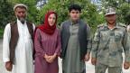 Karin Wenger, unterwegs in Afghanistan.