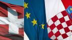 Im Mandat der EU-Mitgliedstaaaten stehe klar, dass sich die Schweiz zur Personenfreizügigkeit bekennen müsse, und dass die Schweiz das Protokoll mit Kroatien unterzeichnen müsse, sagt EU-Botschafter Jones.